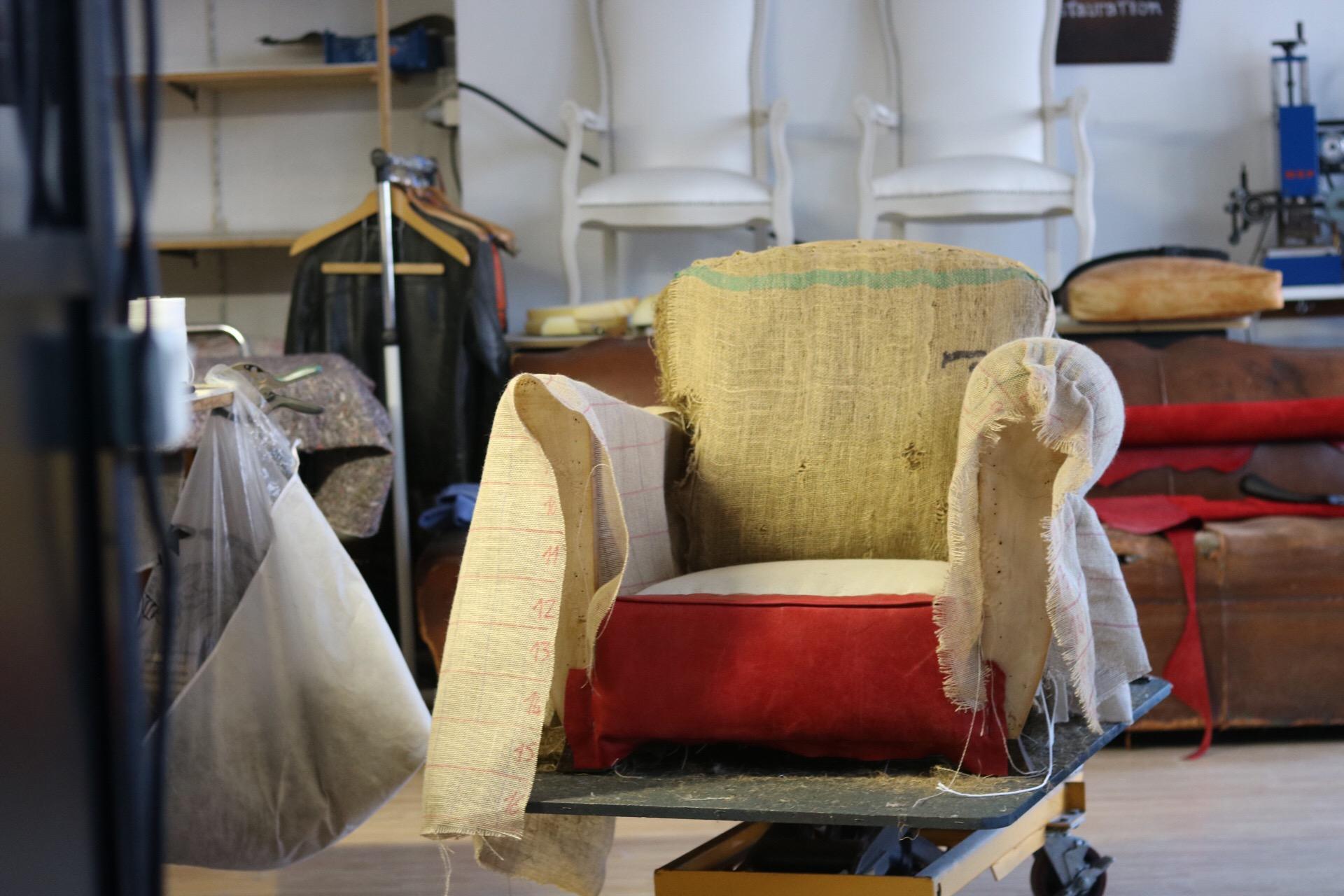 Fauteuil Club A Restaurer fauteuils club restauration, rénovation, changement de cuir